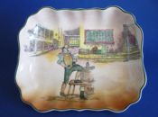 Vintage Royal Doulton 'Sam Weller' Dickens Series 'A' Dish D6327 c1950
